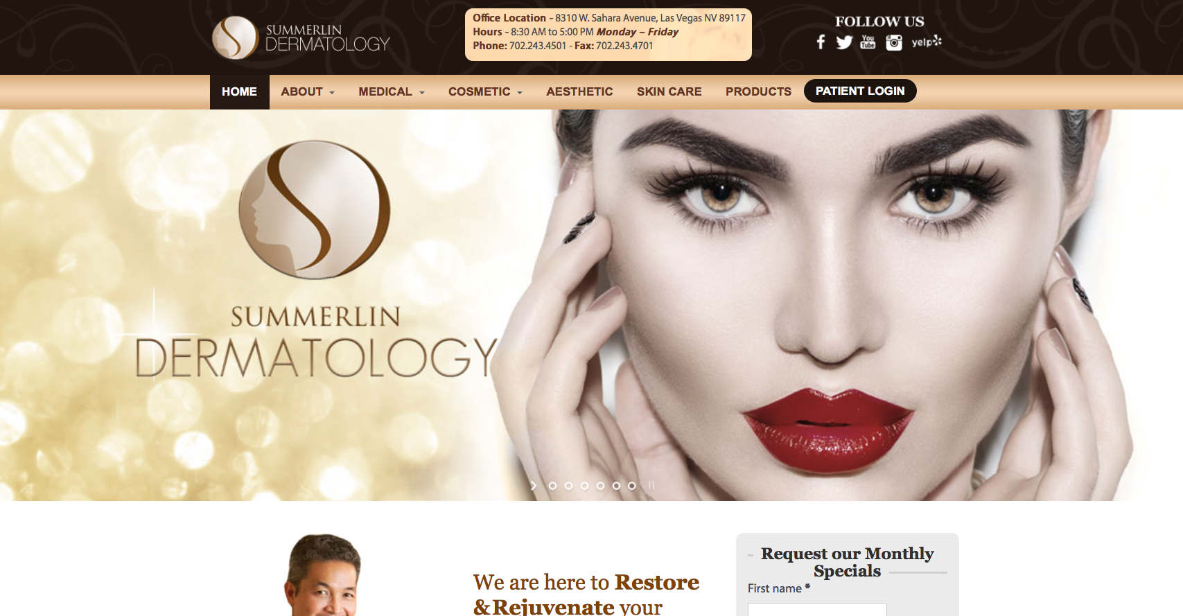 Summerlin Dermatology, Dr. Reuel Aspacio
